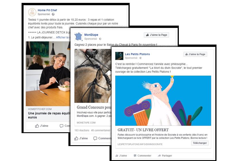 Comment créditez-vous votre compte Facebook?
