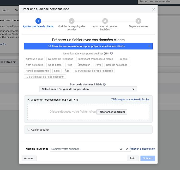 Comment créer une page publicitaire Facebook?