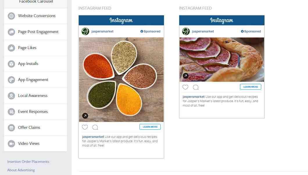Comment payer une publicité sur Instagram?