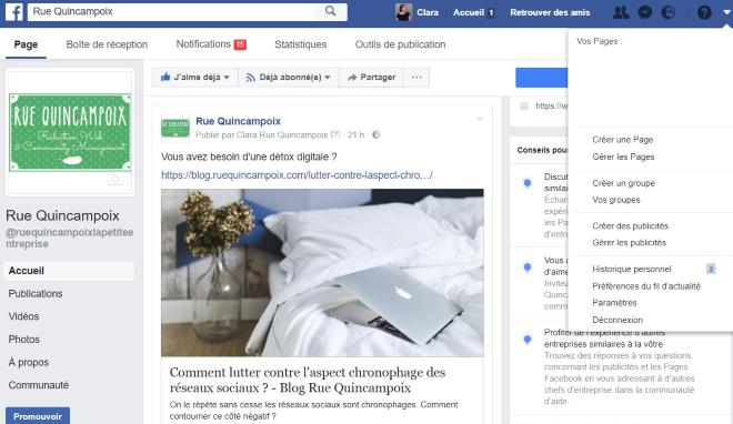 Comment procéder pour payer une page publicitaire sur Facebook ?