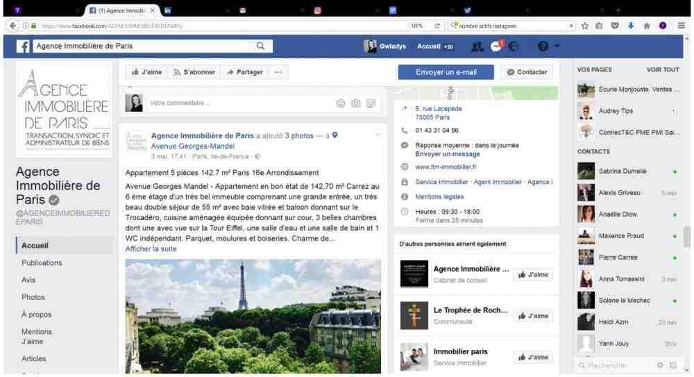 Comment soutenir une page Facebook?