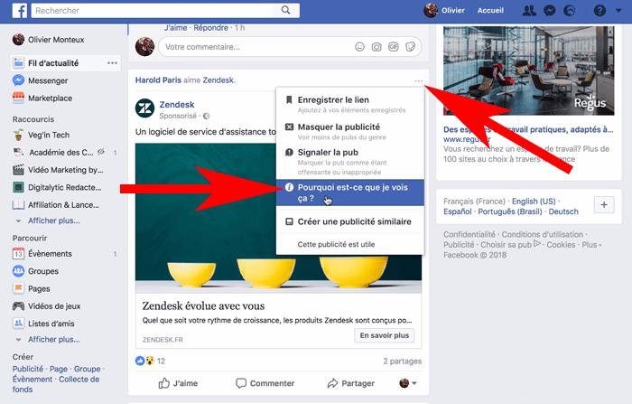 Comment supprimer les publicités de Messenger?