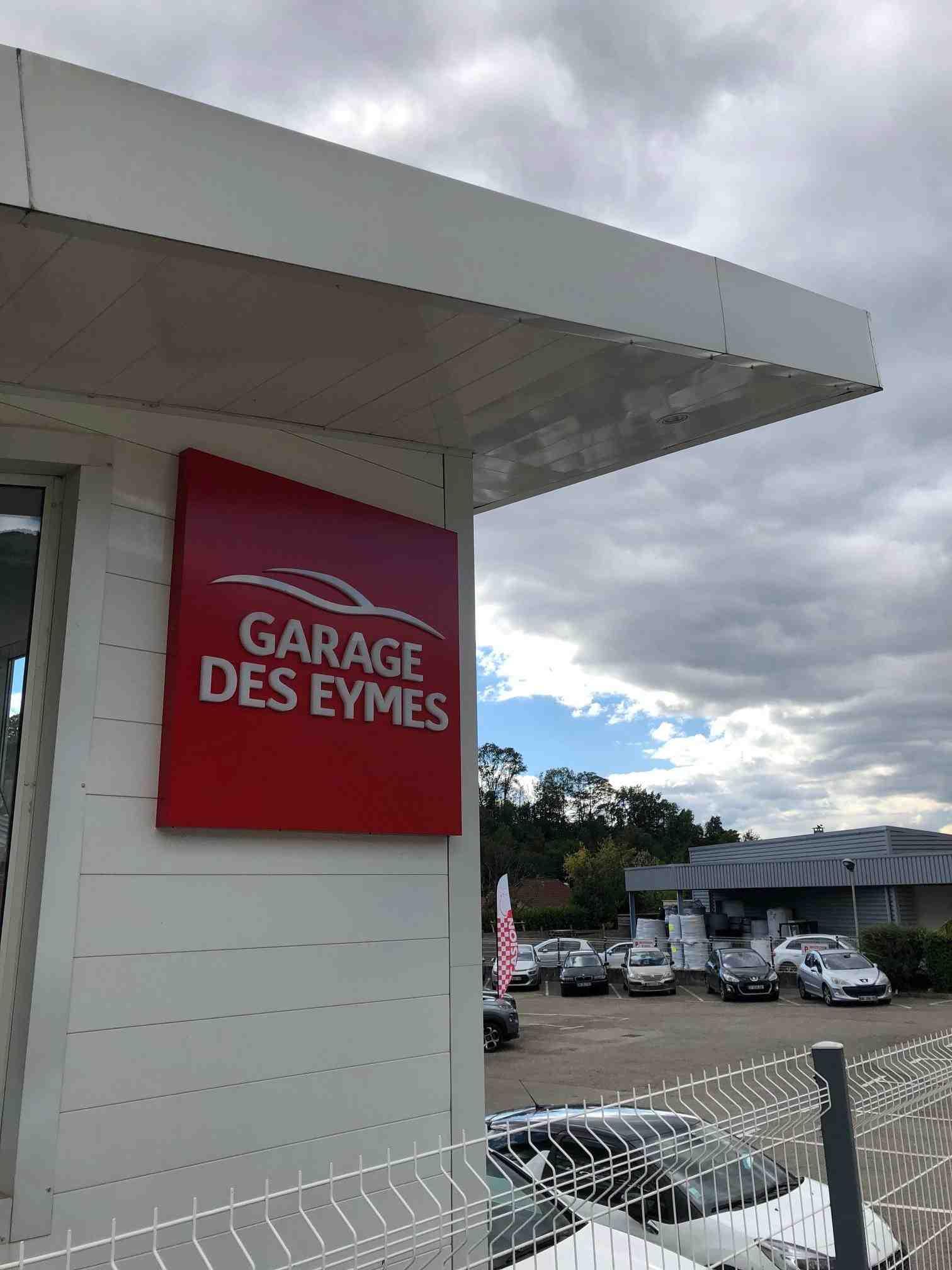 Enseigne lumineuse garage