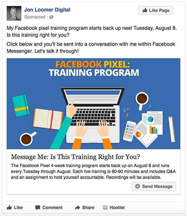 Comment faire une publicité sponsorisée sur Facebook?