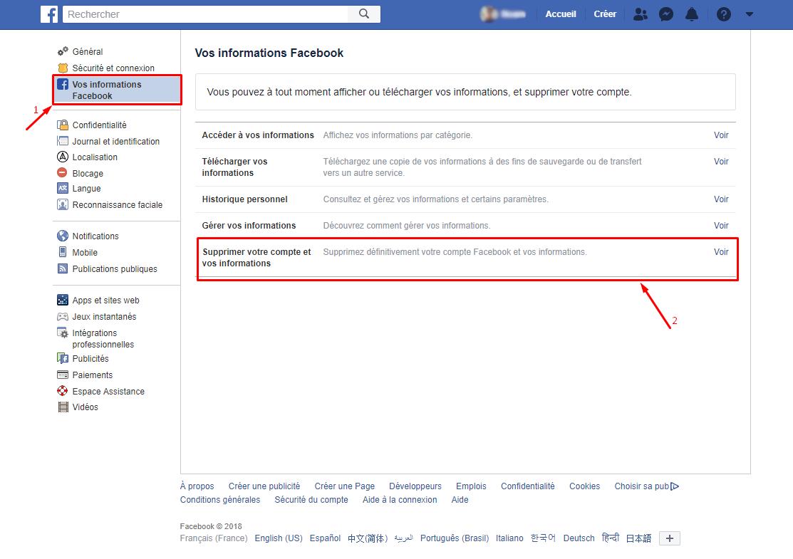 Comment supprimer mon annonce Facebook de Google?