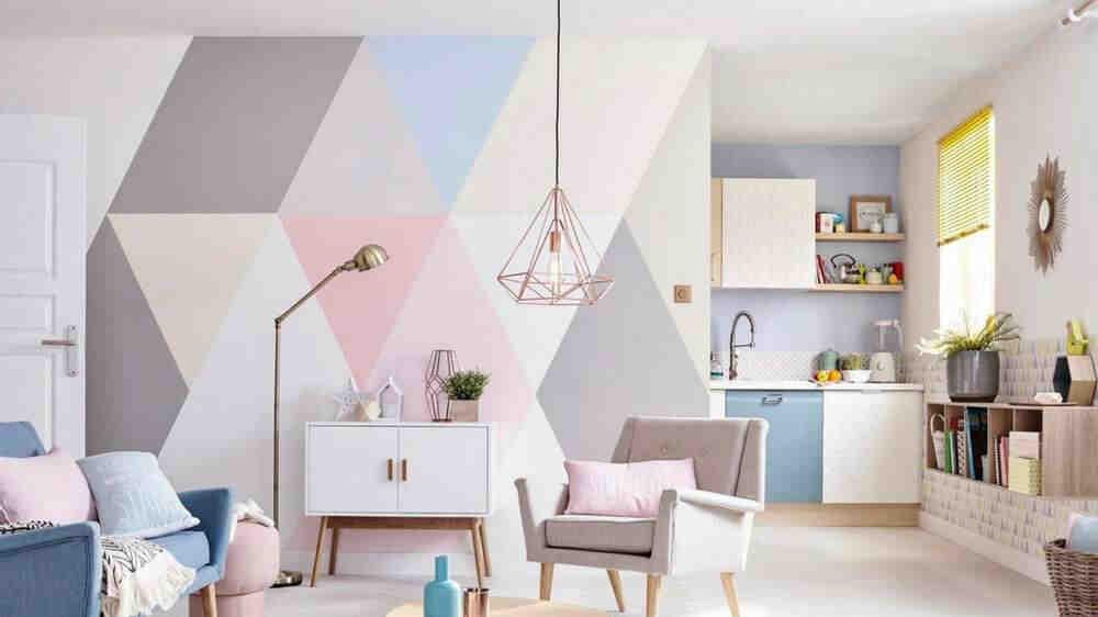 Quelle couleur pour un salon brillant?