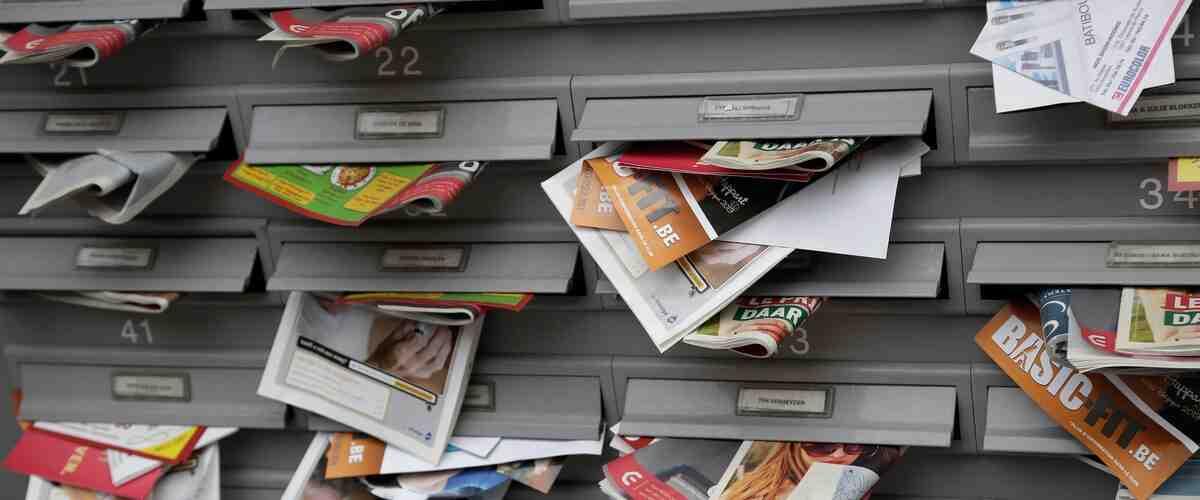 Comment ne plus recevoir d'annonces dans la boîte aux lettres?