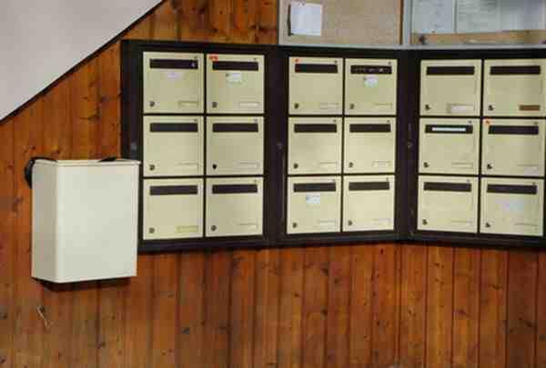 Où la boîte aux lettres doit-elle être placée?