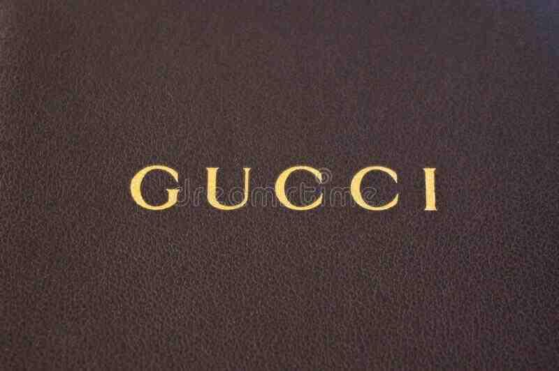 A qui appartient le logo Gucci ?