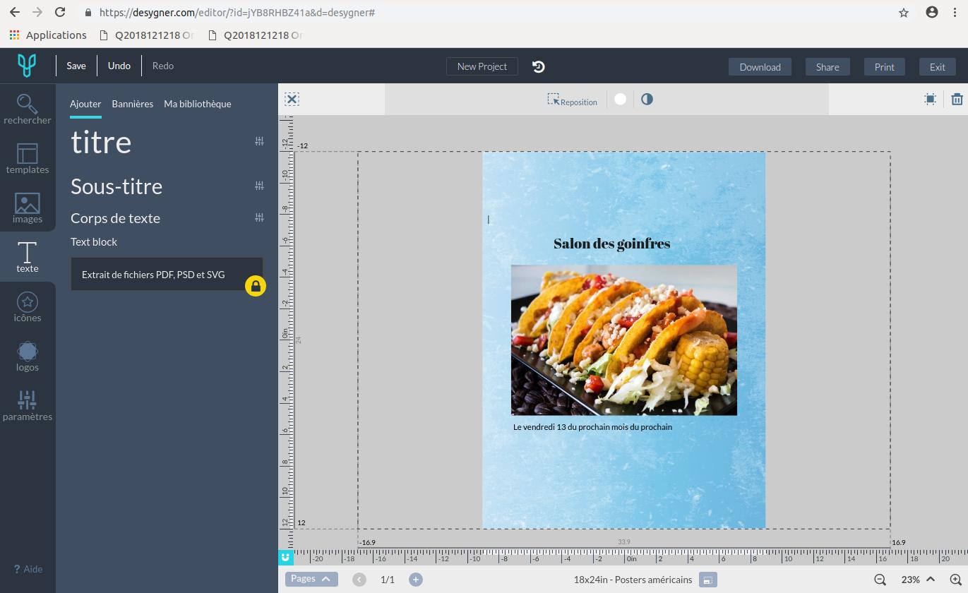 Quel logiciel gratuit pour créer une affiche ?