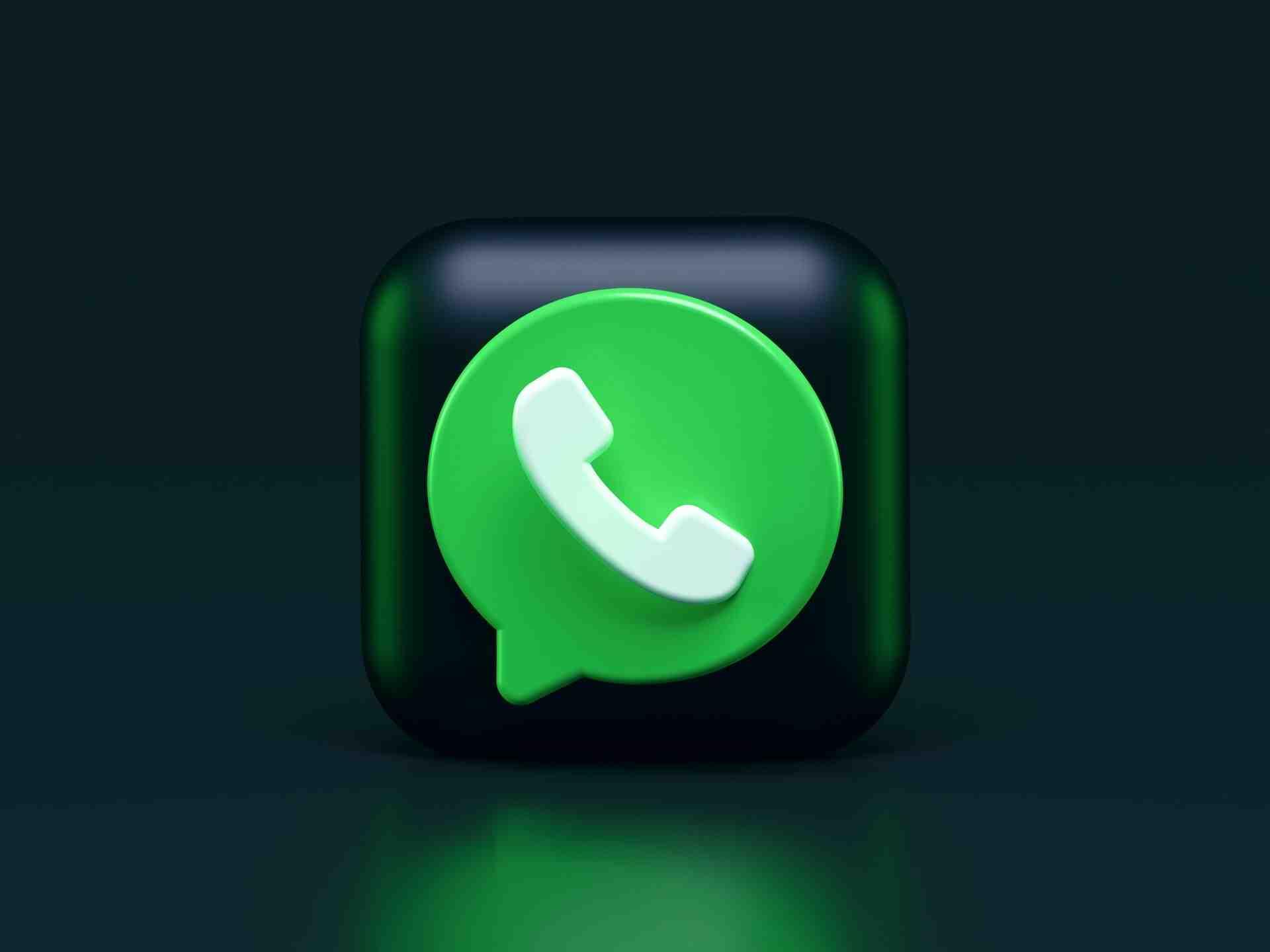 Pourquoi le logo WhatsApp ?
