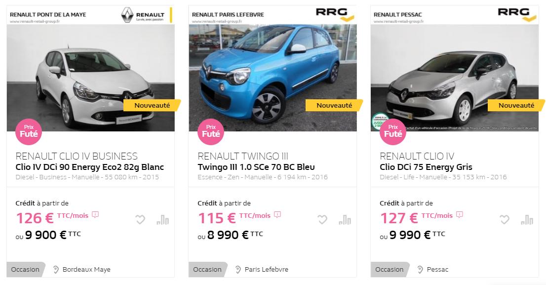 Quelle voiture d'occasion acheter en 2020 pour 10.000 euros ?